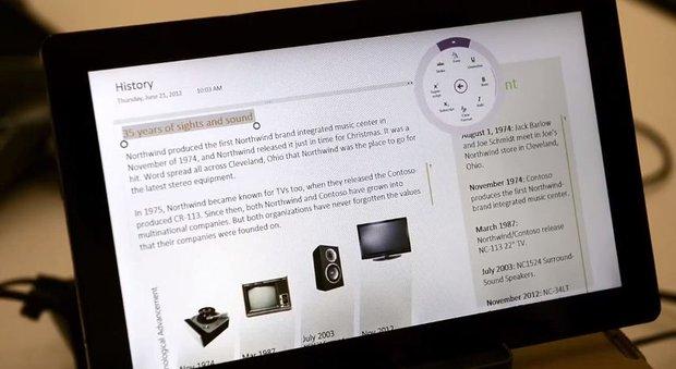 серверная система microsoft на планшете