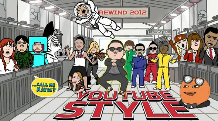 YouTube Rewind 2012 фотография