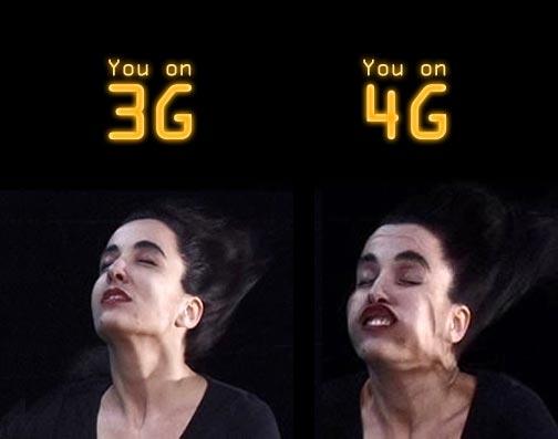 Разница между 3g и 4g