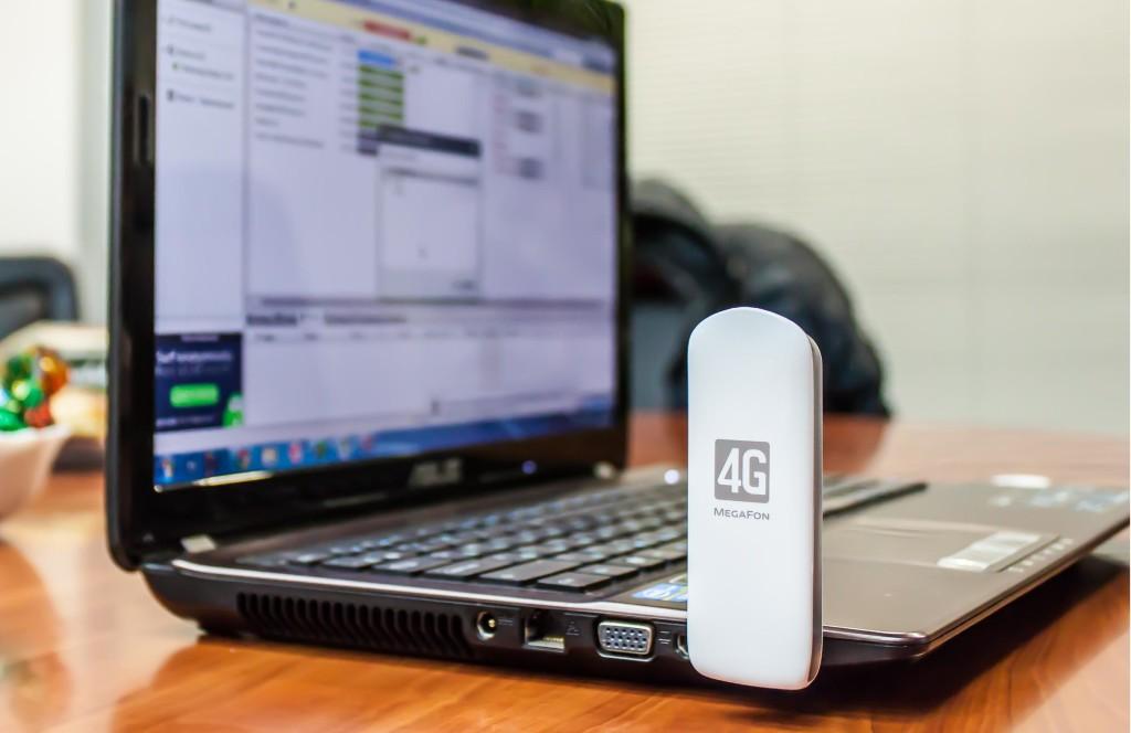 Ноутбук с 4G модемом Мегафон