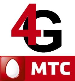 4g мтс логотип