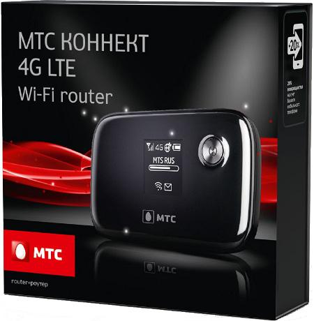 4G роутер от МТС